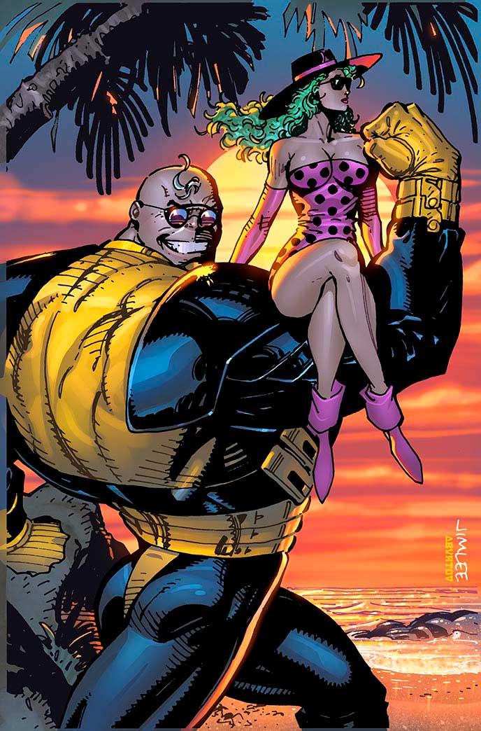 Thanos_9_X-Men_Trading_Card_Variant July brings astonishing Jim Lee X-MEN TRADING CARD VARIANT COVERS