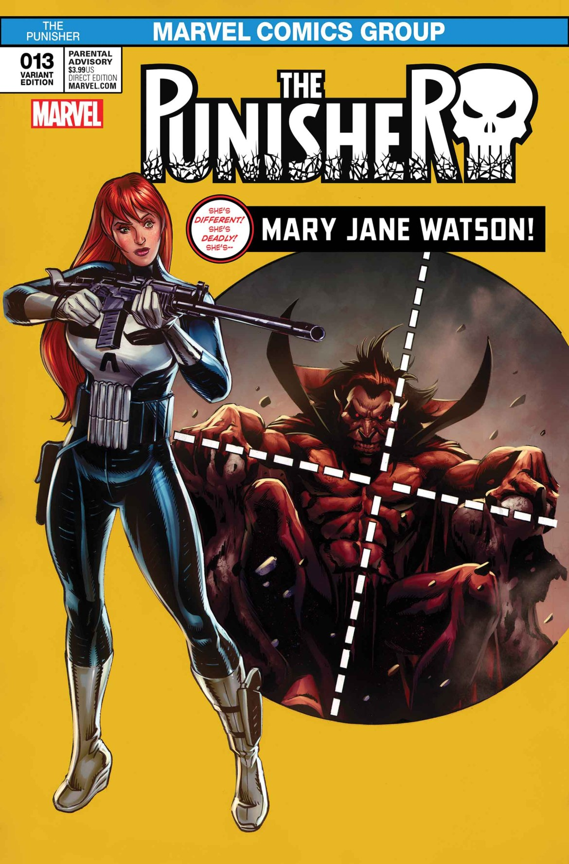 The_Punisher_13_Mary_Jane_Variant Spectacular MARY JANE WATSON VARIANTS hit the jackpot this June