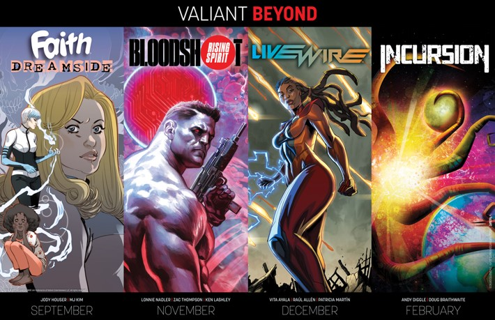 VALIANT_BEYOND_POSTER Valiant announces new lineup of series for 2018 and BEYOND