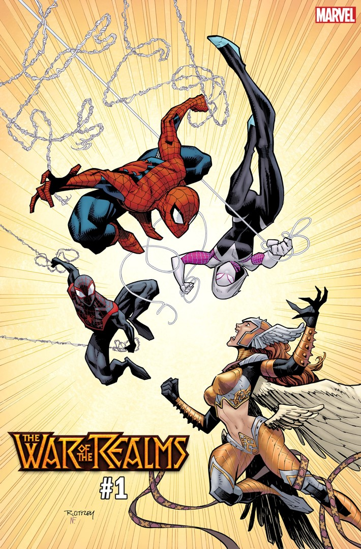 WOTR_OTTLEY_VAR WAR OF THE REALMS #1 variants by George Perez and Ryan Ottley released