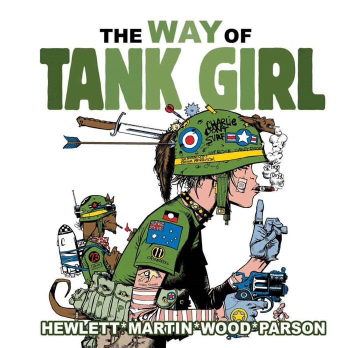 WayOfTGcover TANK GIRL 30th anniversary plans announced by Titan Comics
