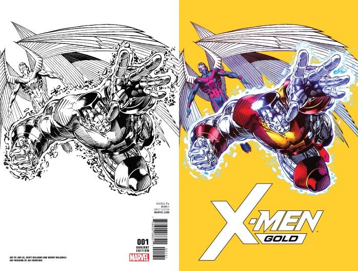 X-Men_Gold_1_Jim_Lee_Remastered_Variant X-MEN BLUE and X-MEN GOLD to feature remastered Jim Lee artwork