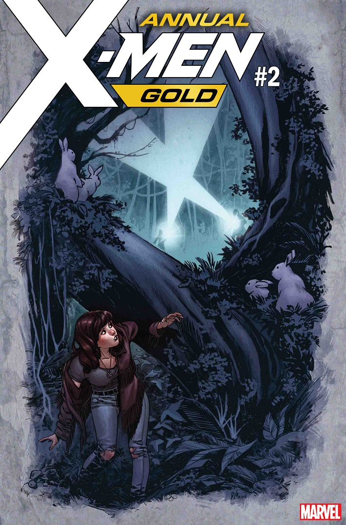 XMGOLDANN_CVR X-MEN GOLD ANNUAL #2 to feature story by award winning Seanan McGuire