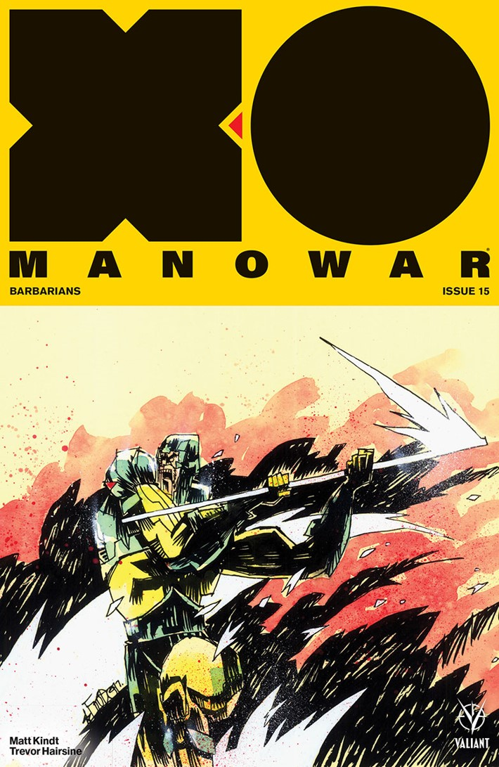 XO2017_015_COVER-B_MAHFOOD First Look at Valiant Entertainment's X-O MANOWAR (2017) #15
