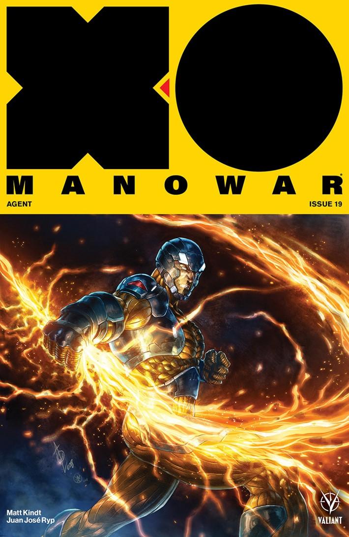 XO2017_019_COVER-B_QUAH X-O MANOWAR #19-22 PRE-ORDER EDITION BUNDLE features AGENT storyline