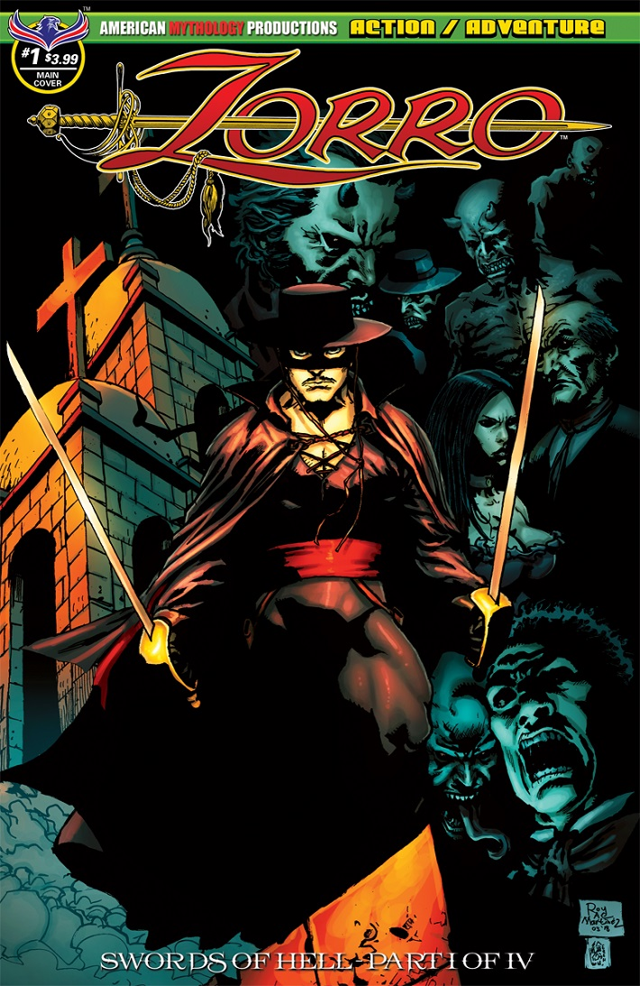 ZORRO_1 ZORRO returns in August 2018 SWORDS OF HELL miniseries