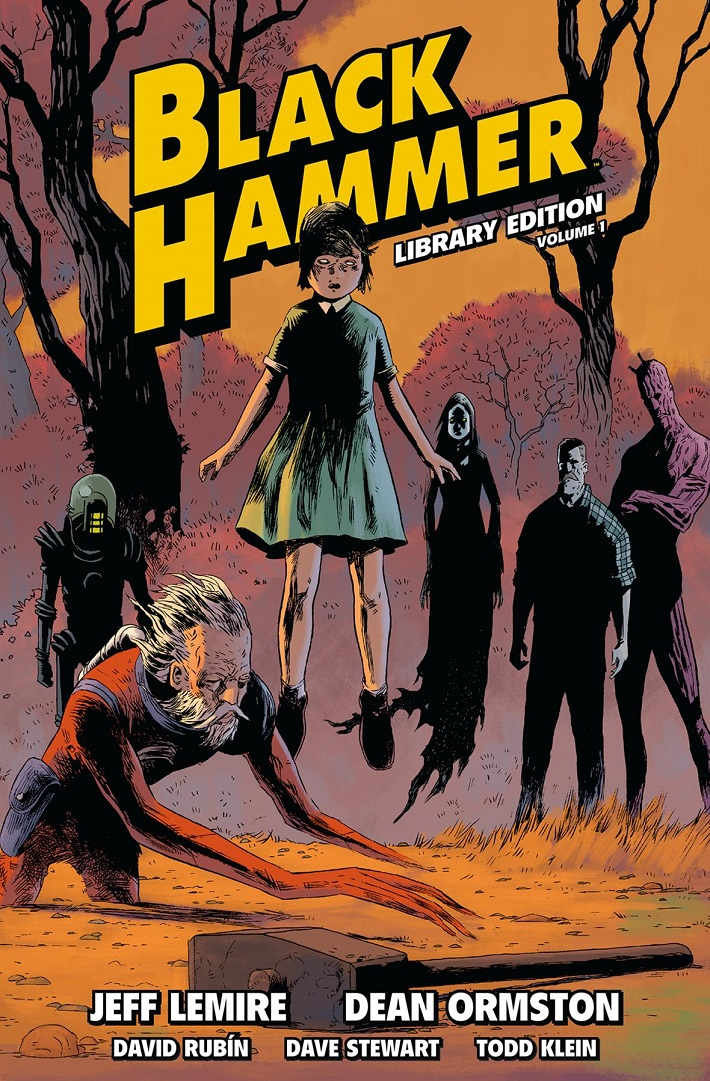 blackhammerlibcov Dark Horse to publish deluxe library edition of BLACK HAMMER