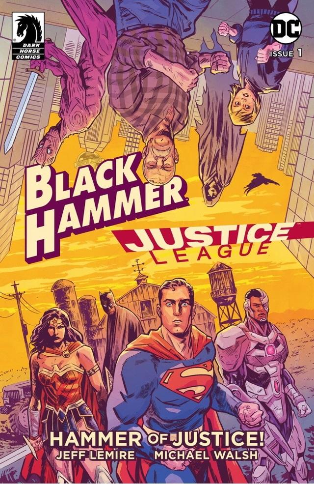 blkhmrjl Worlds collide in BLACK HAMMER/JUSTICE LEAGUE: HAMMER OF JUSTICE
