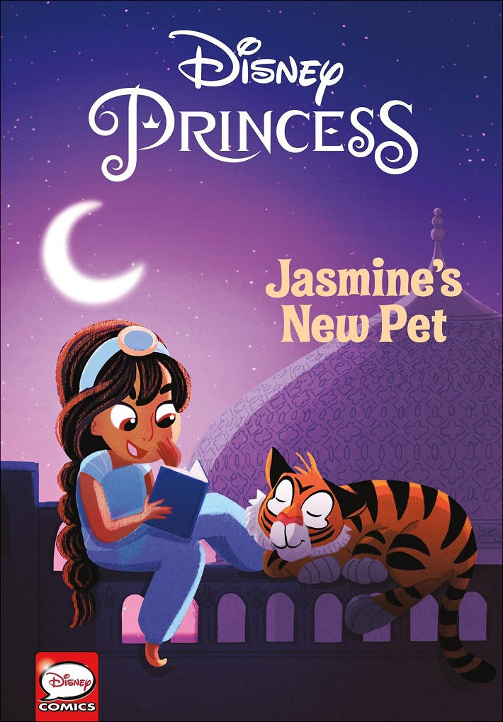 disneyprincesscov DISNEY PRINCESS: JASMINE'S NEW PET set for October 2018 release