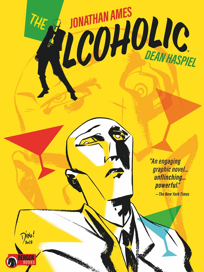 eccc2018alcoholic Dark Horse imprint Berger Books to release Jonathan Ames' THE ALCOHOLIC