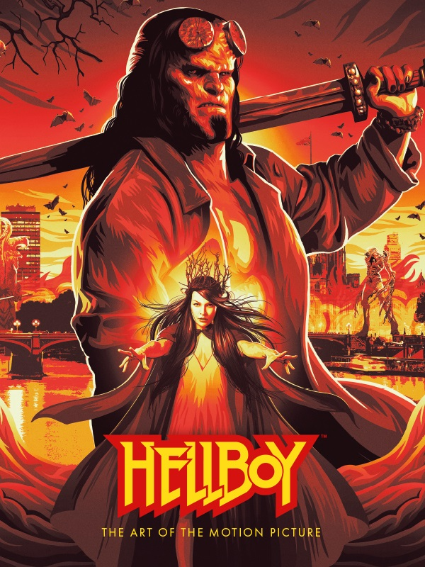 hellboymoviecov Dark Horse to publish HELLBOY: THE ART OF THE MOTION PICTURE