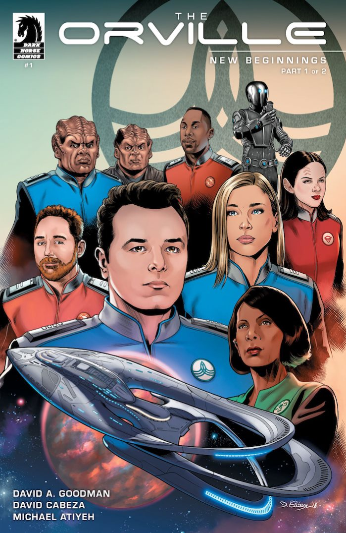 orvillecov THE ORVILLE embarks on all new adventures at Dark Horse