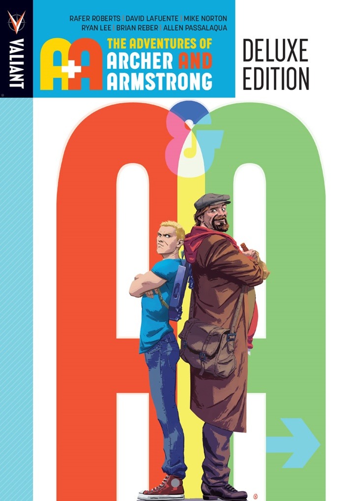 AA_HC_01_COVER_KANO ComicList Previews: A&A THE ADVENTURES OF ARCHER AND ARMSTRONG DELUXE EDITION HC