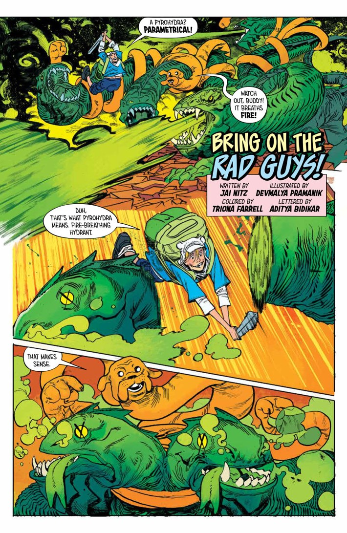 ATComics_v4_SC_PRESS_22 ComicList Previews: ADVENTURE TIME COMICS VOLUME 4 TP