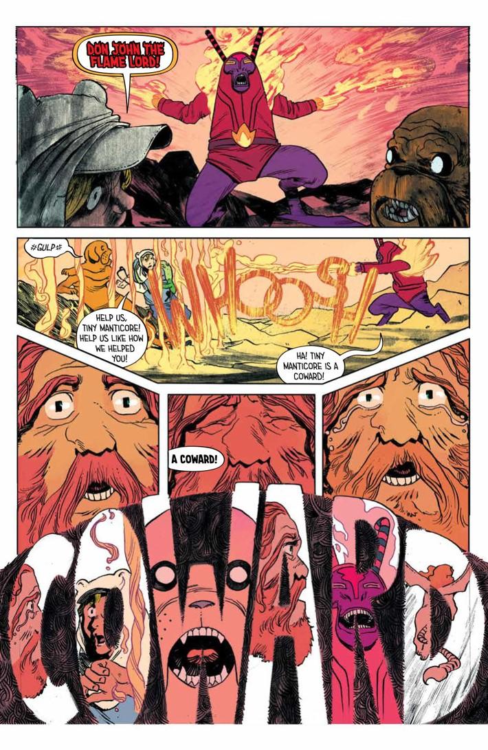 ATComics_v4_SC_PRESS_24 ComicList Previews: ADVENTURE TIME COMICS VOLUME 4 TP