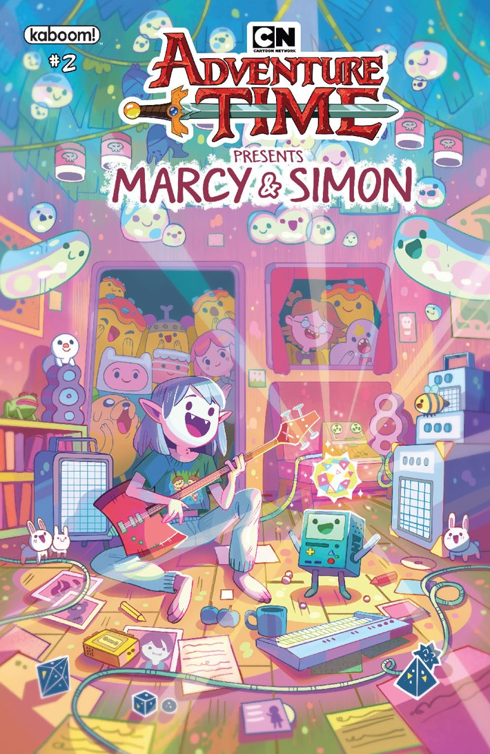 ATMarcy&Simon_002_B_Preorder_Marcy ComicList Previews: ADVENTURE TIME MARCY AND SIMON #2