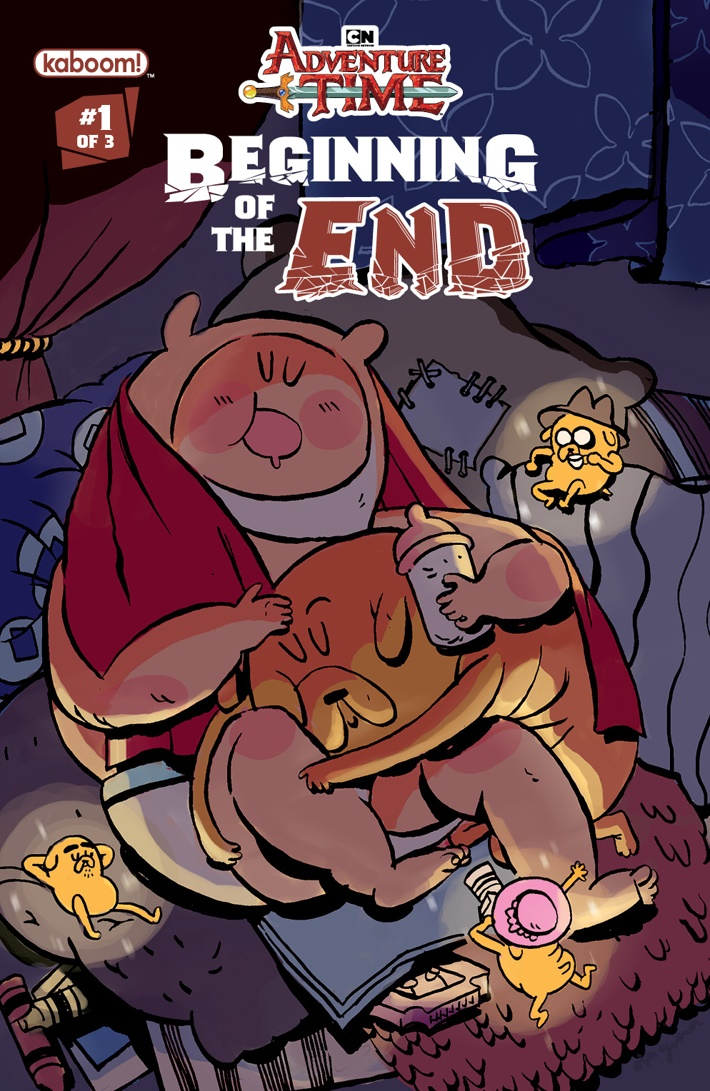 AT_Beginning_of_the_End_001_B_Subscription ComicList Previews: ADVENTURE TIME BEGINNING OF THE END #1