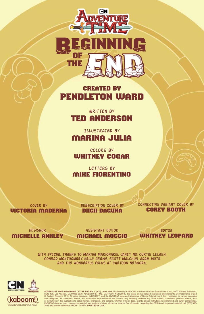 AT_Beginning_of_the_End_002_PRESS_2 ComicList Previews: ADVENTURE TIME BEGINNING OF THE END #2