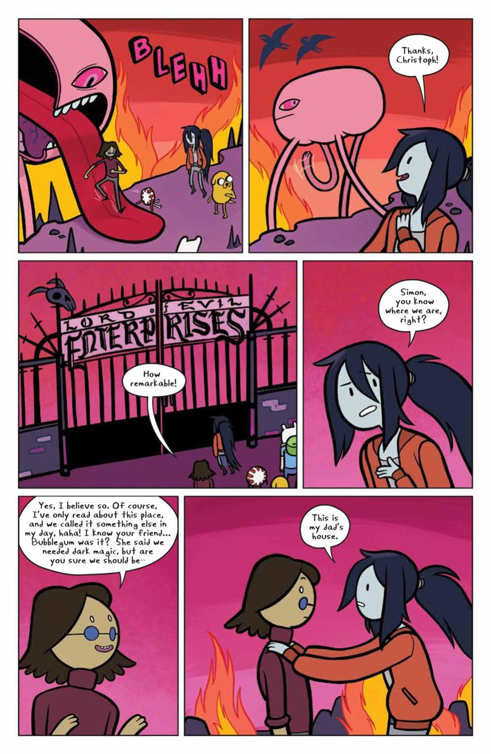 AT_MarcySimon_003_PRESS_5 ComicList Previews: ADVENTURE TIME MARCY AND SIMON #3