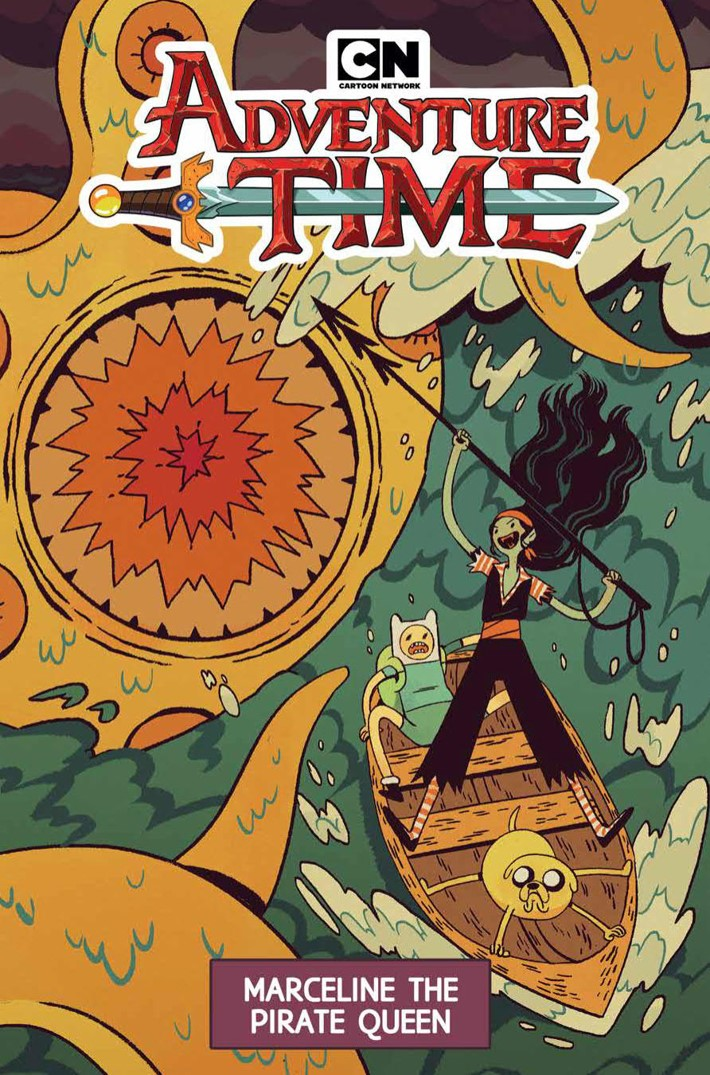AT_OGN_v13_MarcelinePirateQueen_PRESS_1 ComicList Previews: ADVENTURE TIME MARCELINE THE PIRATE QUEEN GN