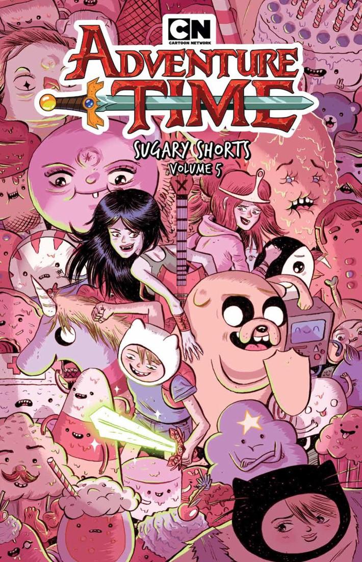 AT_SugaryShorts_v5_SC_PRESS_1 ComicList Previews: ADVENTURE TIME SUGARY SHORTS VOLUME 5 TP