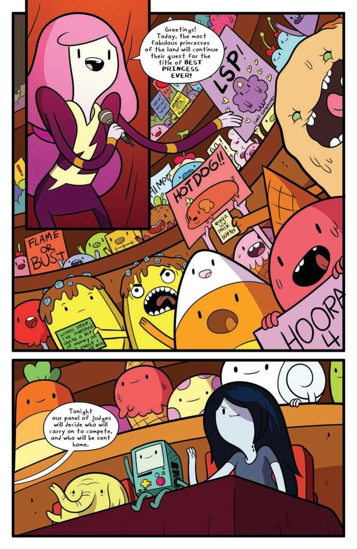 AdventureTime_063_PRESS_5 ComicList Preview: ADVENTURE TIME #63