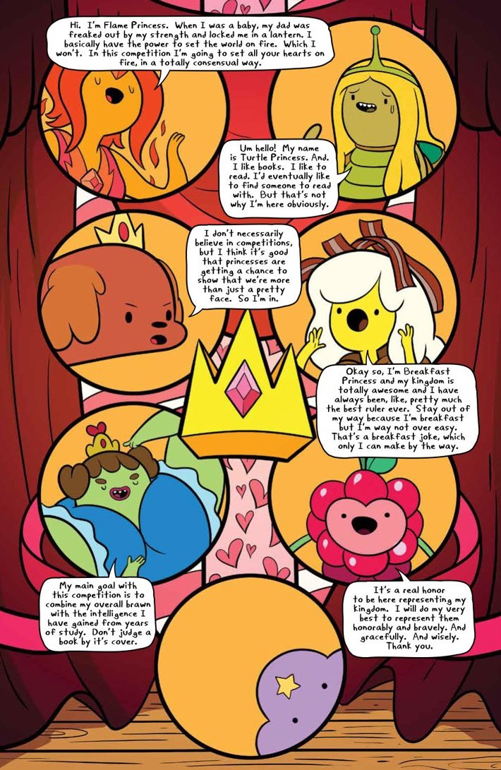 AdventureTime_v14_SC_PRESS_12 ComicList Previews: ADVENTURE TIME VOLUME 14 TP