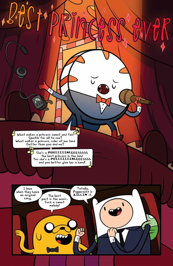 AdventureTime_v14_SC_PRESS_9 ComicList Previews: ADVENTURE TIME VOLUME 14 TP