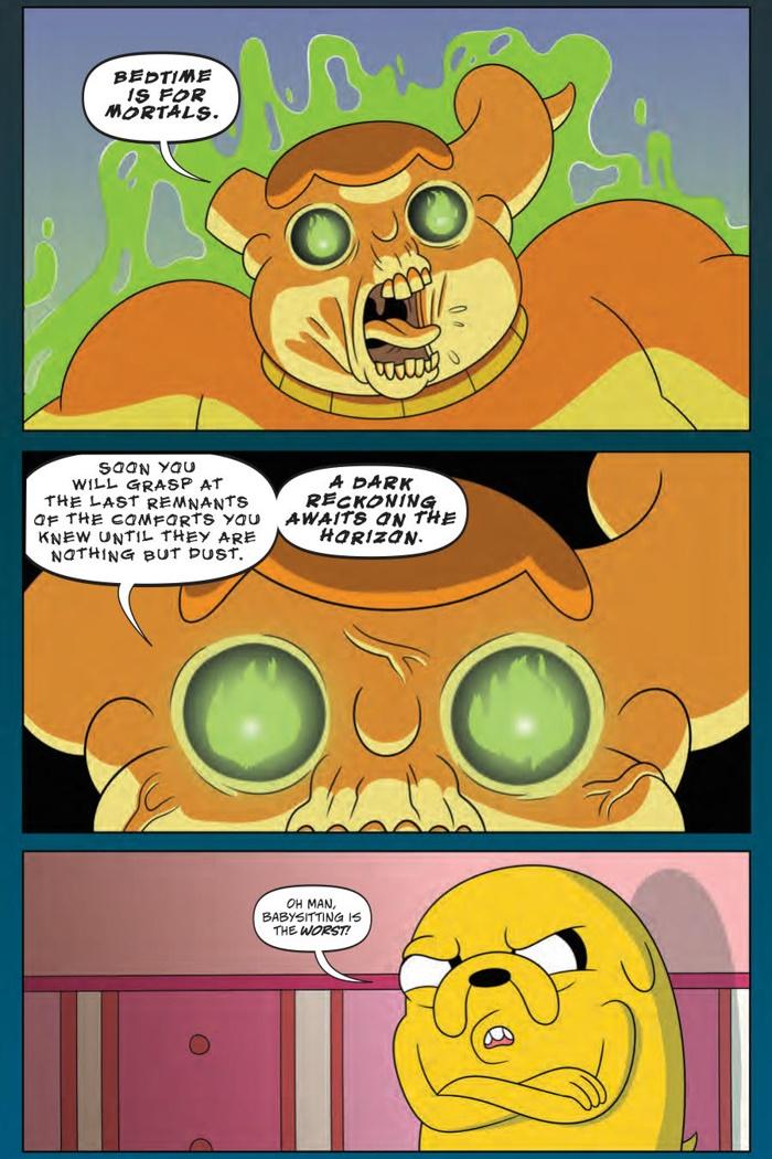 AdventureTime_v9_OGN_PRESS_7 ComicList Preview: ADVENTURE TIME VOLUME 9 BRAIN ROBBERS GN