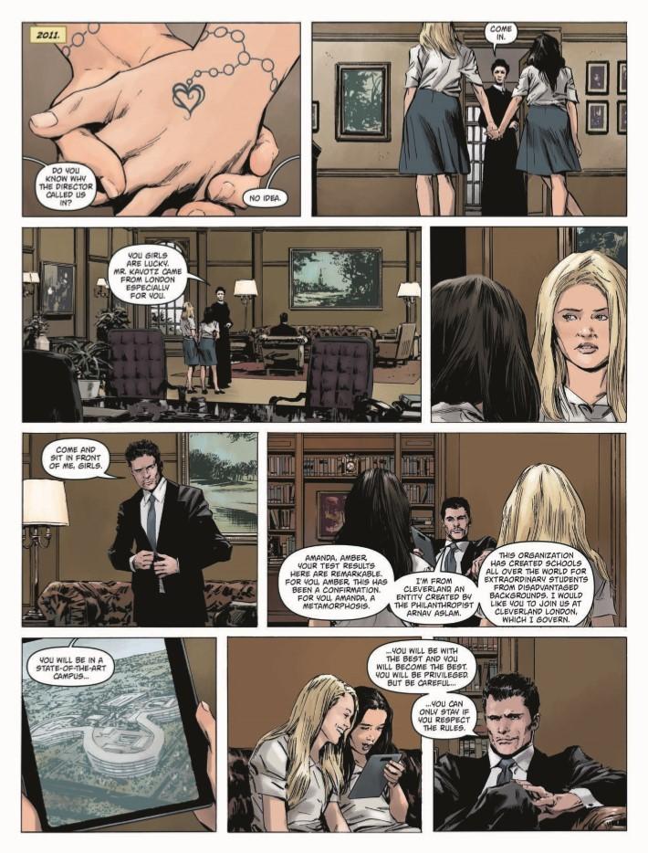 Amber_Blake_01-pr-5 ComicList Previews: AMBER BLAKE #1