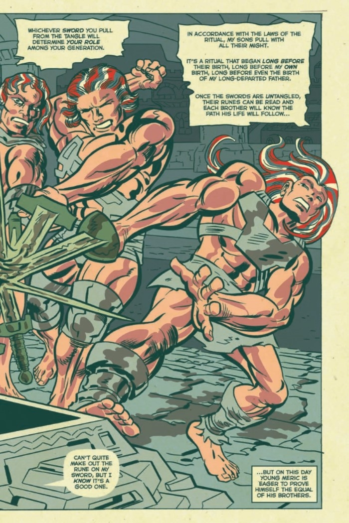 AmericanBarbarian_Complete-pr-5 ComicList Preview: AMERICAN BARBARIAN THE COMPLETE SERIES TP