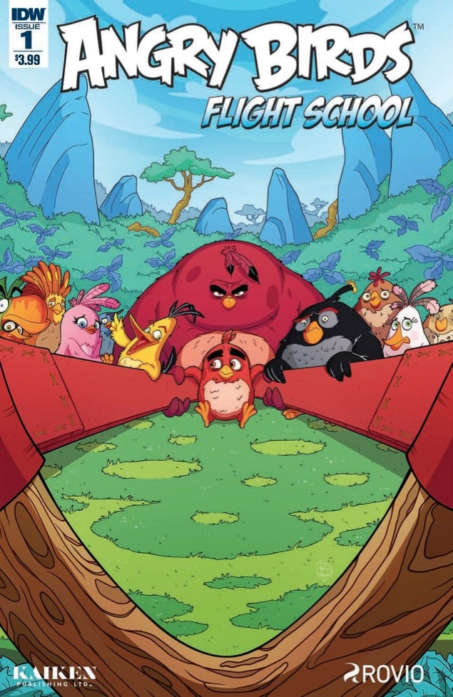 ComicList Preview ANGRY BIRDS FLIGHT SCHOOL 1