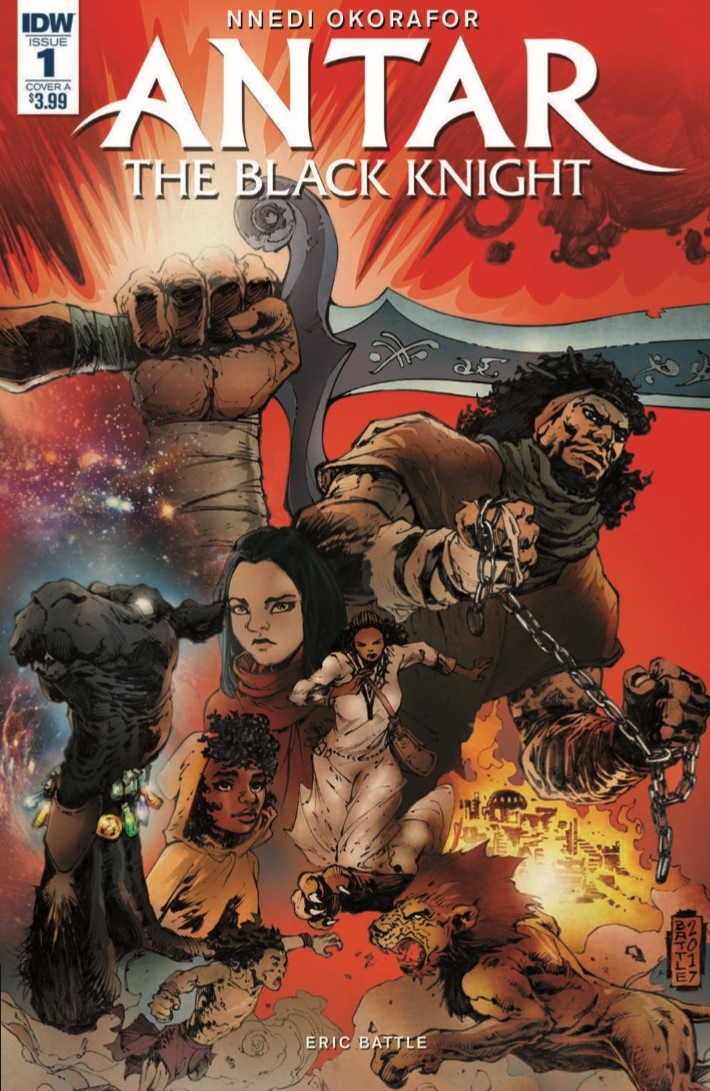 Antar_01-pr-1 ComicList Previews: ANTAR #1