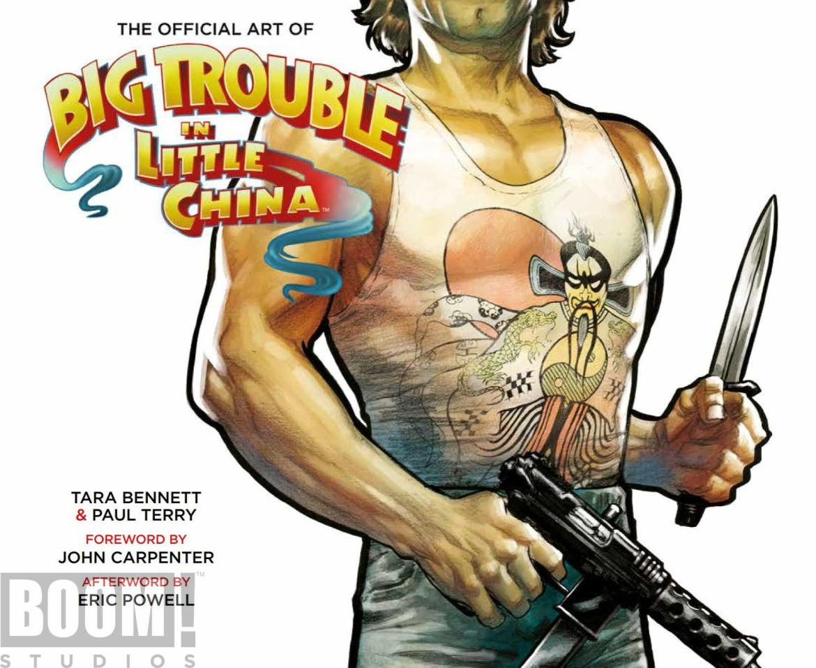 ArtOfBigTroubleInLittleChina_HC_Cover ComicList Preview: THE OFFICIAL ART OF BIG TROUBLE IN LITTLE CHINA HC
