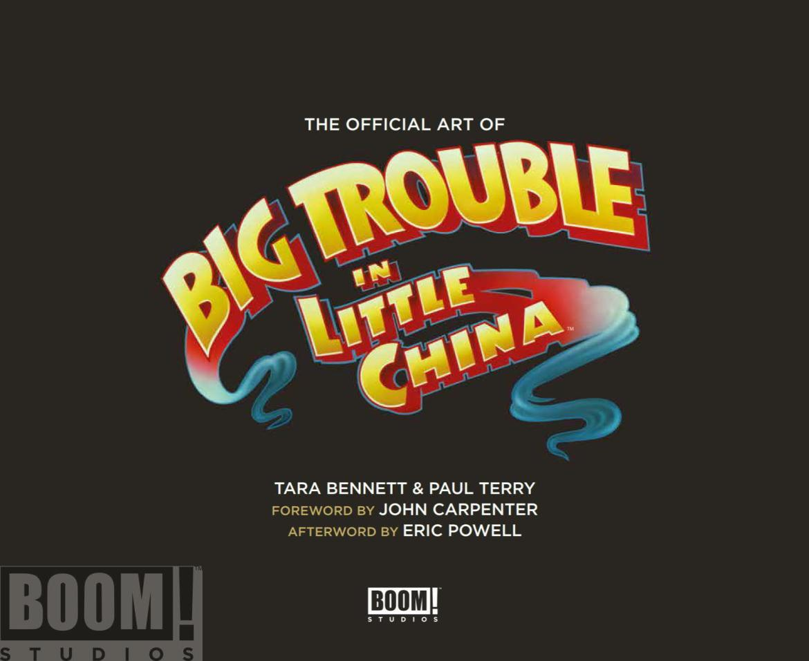 ArtOfBigTroubleInLittleChina_HC_PRESS_1 ComicList Preview: THE OFFICIAL ART OF BIG TROUBLE IN LITTLE CHINA HC