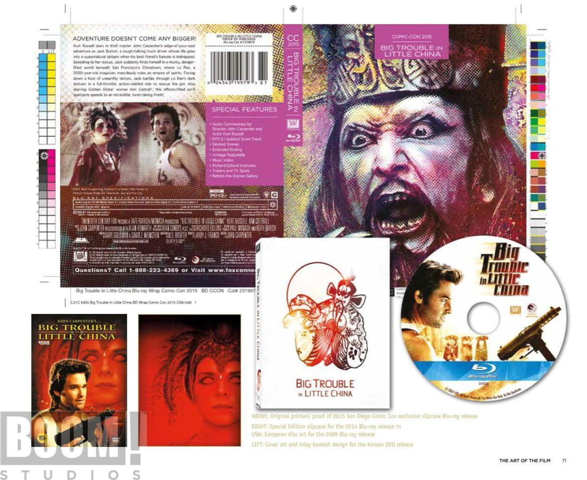 ArtOfBigTroubleInLittleChina_HC_PRESS_19 ComicList Preview: THE OFFICIAL ART OF BIG TROUBLE IN LITTLE CHINA HC