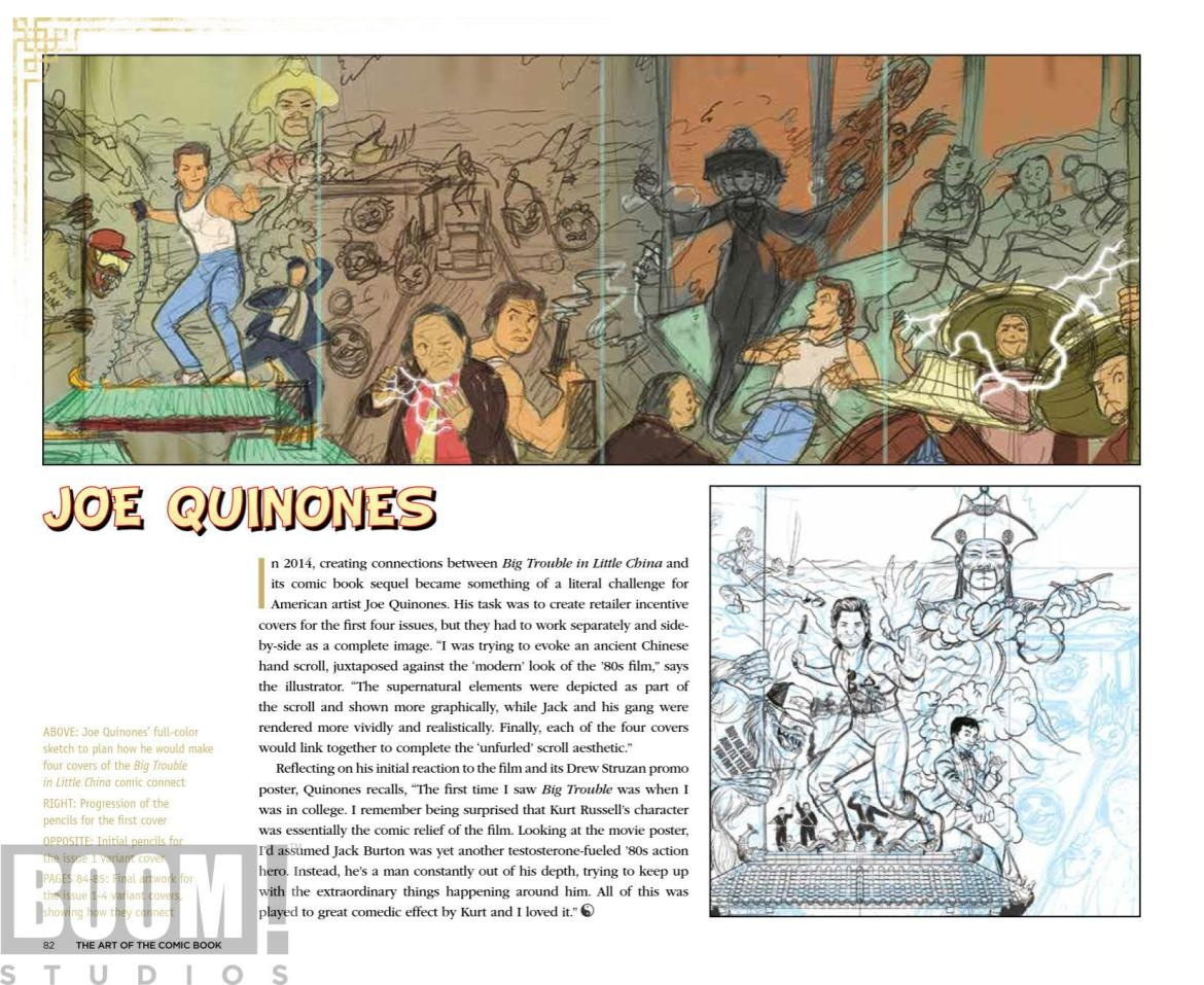 ArtOfBigTroubleInLittleChina_HC_PRESS_20 ComicList Preview: THE OFFICIAL ART OF BIG TROUBLE IN LITTLE CHINA HC