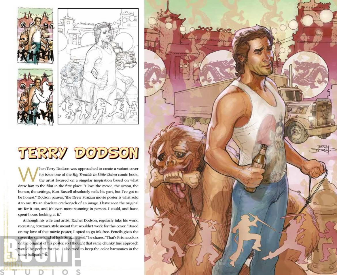 ArtOfBigTroubleInLittleChina_HC_PRESS_22 ComicList Preview: THE OFFICIAL ART OF BIG TROUBLE IN LITTLE CHINA HC