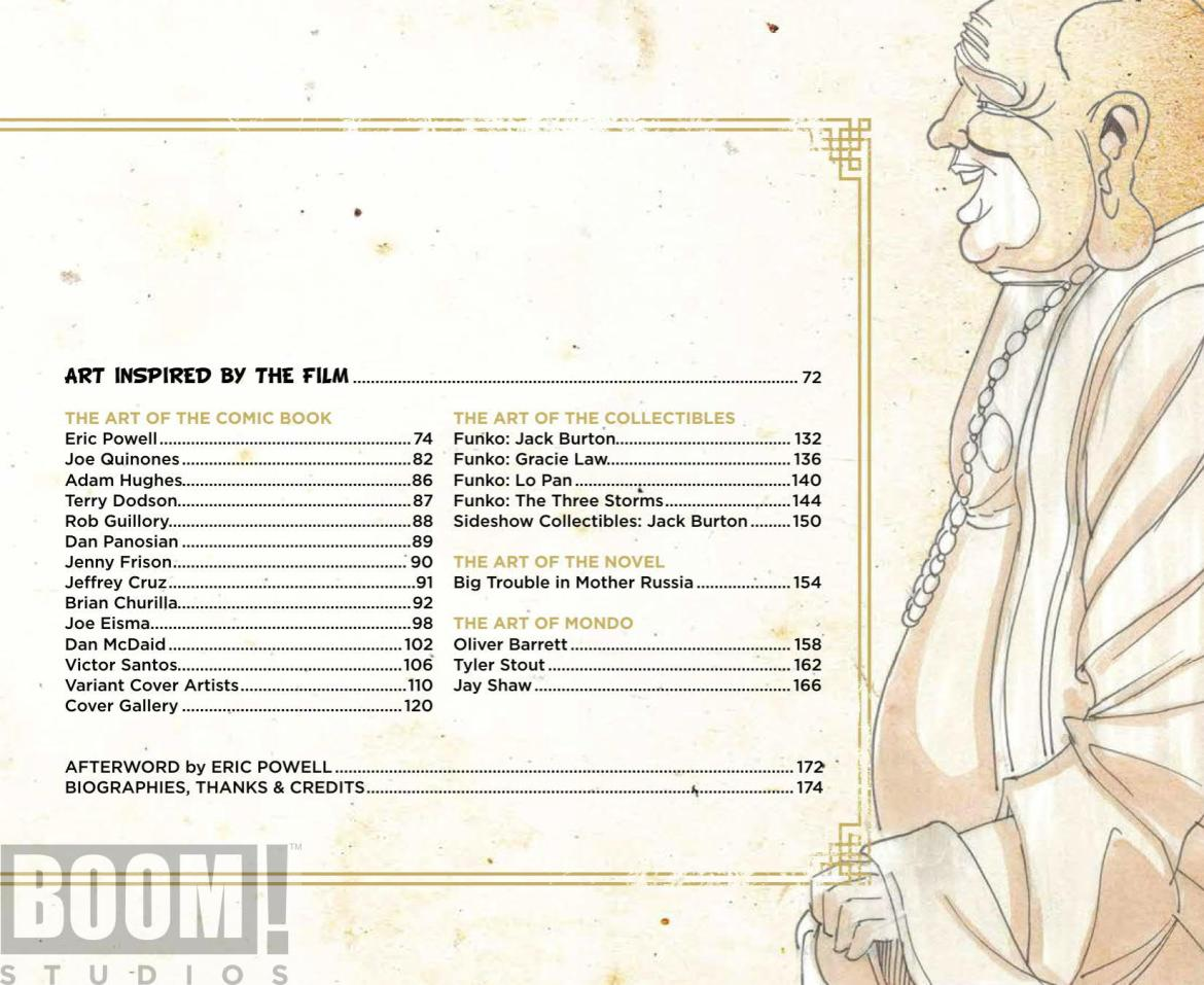 ArtOfBigTroubleInLittleChina_HC_PRESS_3 ComicList Preview: THE OFFICIAL ART OF BIG TROUBLE IN LITTLE CHINA HC