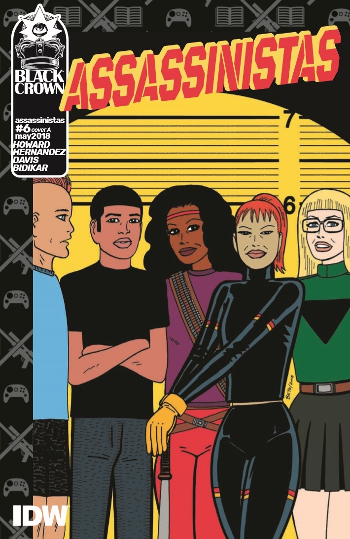 Assassinistas_06-pr-1 ComicList Previews: ASSASSINISTAS #6