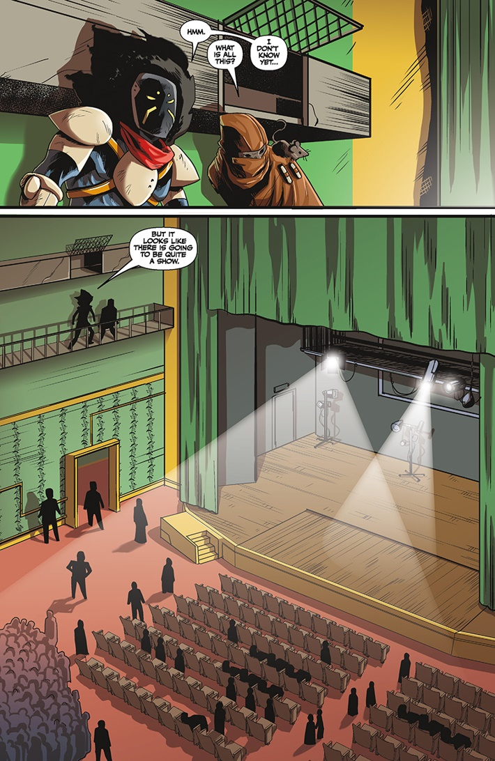 BLACKAFWIDOWS_2_4 ComicList Previews: BLACK AF WIDOWS AND ORPHANS #2