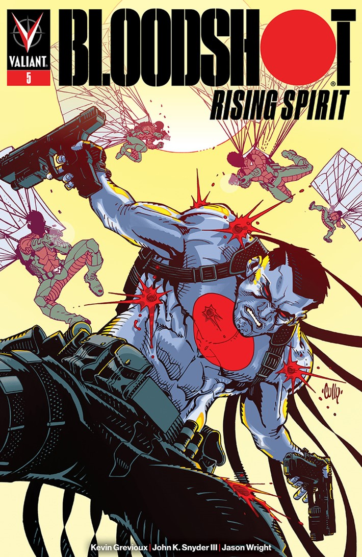BRS5_COVER_B ComicList Previews: BLOODSHOT RISING SPIRIT #5