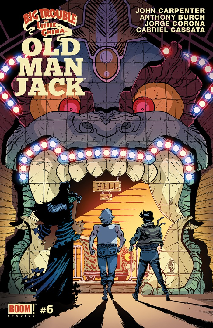 BTLC_OMJ_006_A_Main ComicList Previews: BIG TROUBLE IN LITTLE CHINA OLD MAN JACK #6