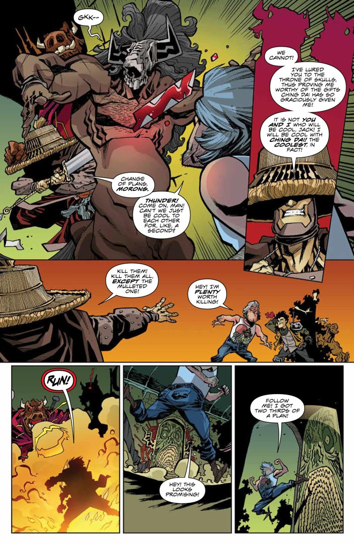 BTLC_OMJ_007_PRESS_5 ComicList Previews: BIG TROUBLE IN LITTLE CHINA OLD MAN JACK #7