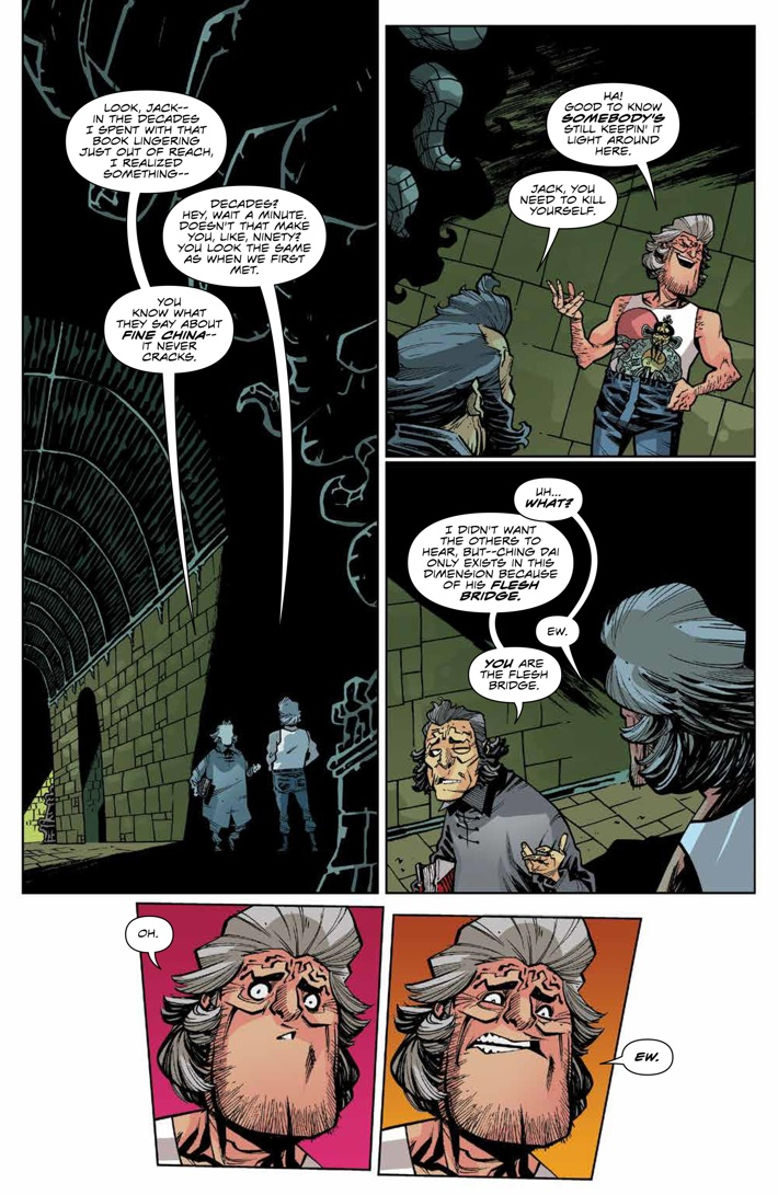 BTLC_OMJ_008_PRESS_4 ComicList Previews: BIG TROUBLE IN LITTLE CHINA OLD MAN JACK #8