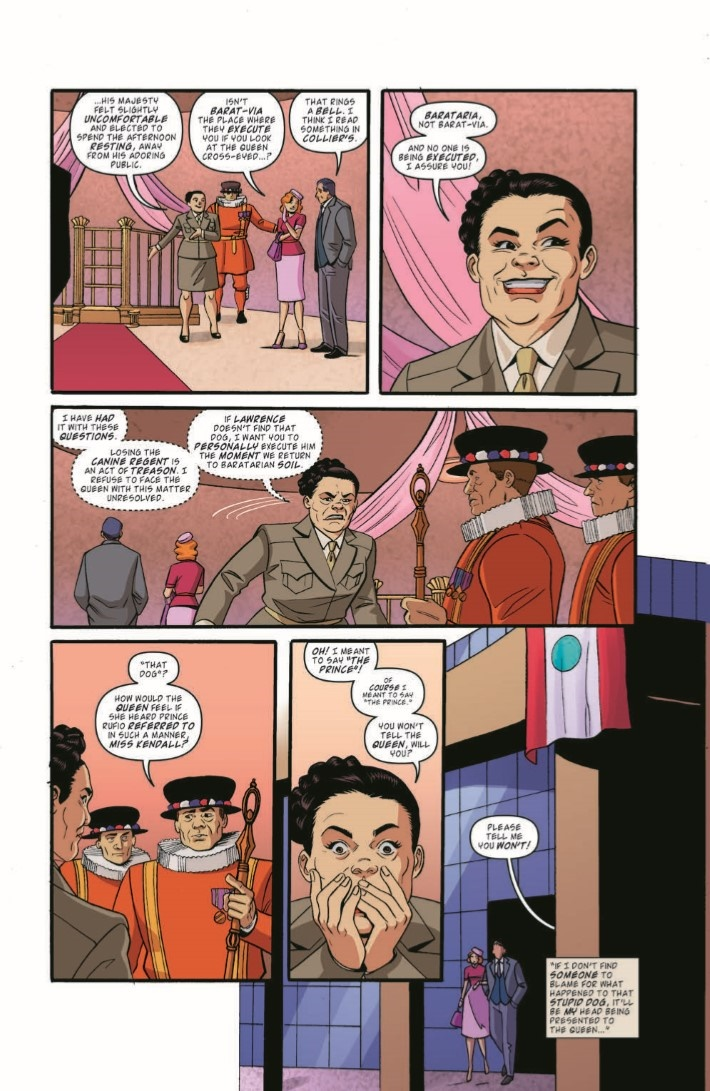 BackToTheFuture_TimeTrain_05-pr-4 ComicList Previews: BACK TO THE FUTURE TALES FROM THE TIME TRAIN #5