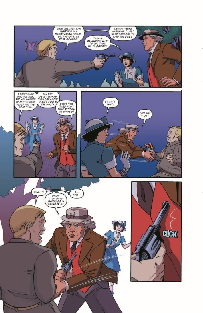 BackToTheFuture_TimeTrain_05-pr-6 ComicList Previews: BACK TO THE FUTURE TALES FROM THE TIME TRAIN #5