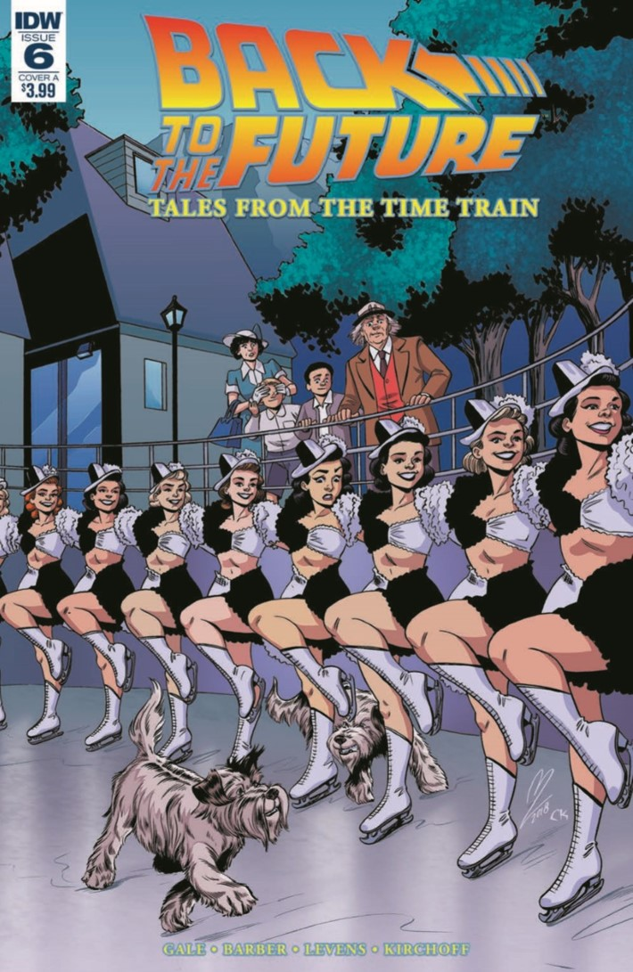 BackToTheFuture_Time_Train_06-pr-1 ComicList Previews: BACK TO THE FUTURE TALES FROM THE TIME TRAIN #6