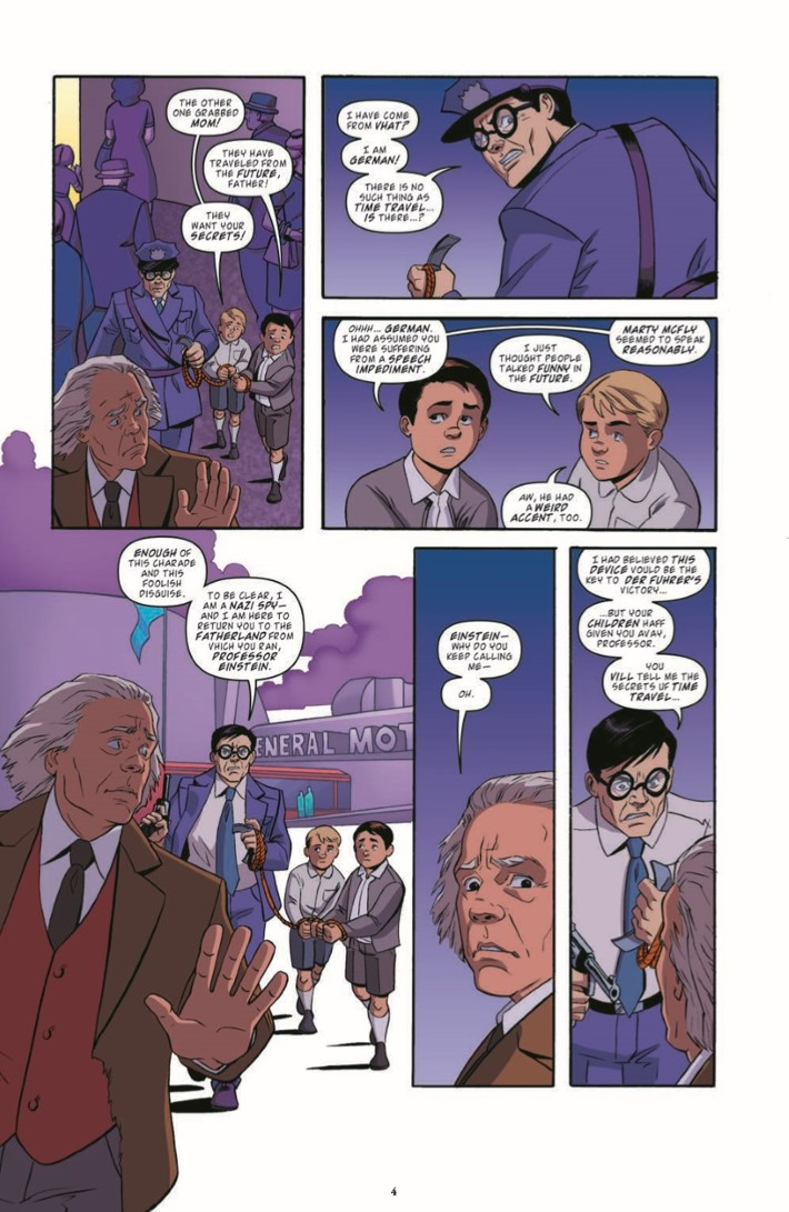BackToTheFuture_Time_Train_06-pr-4 ComicList Previews: BACK TO THE FUTURE TALES FROM THE TIME TRAIN #6