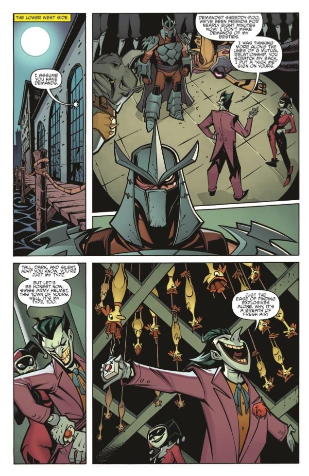 Batman-TMNT_Adv_03-pr-5 ComicList Preview: BATMAN TEENAGE MUTANT NINJA TURTLES ADVENTURES #3